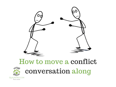 How to move a conflict situation along?