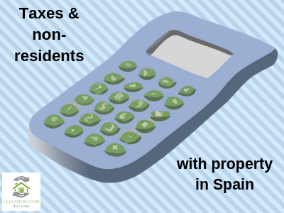Do I have to pay taxes as a non-resident owning property in Spain?