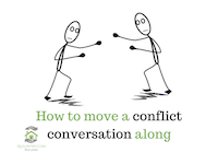How to solve a conflict?