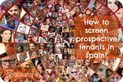 How to screen prospective tenants in Spain?