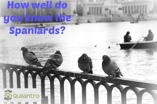 How well do you know the Spaniards? Quiz - part 1